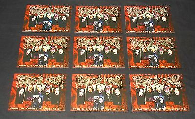 Cradle Of Filth - From The Cradle To Enslave (Rare Set Of Nine Promo Postcards)