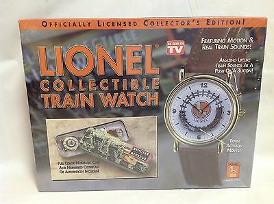 Lionel Collectible Train Watch - Brand New In Sealed Box