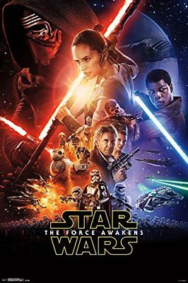 """Trends International Star Wars The Force Awakens Wall Poster 22.375"""" x 34"""""""