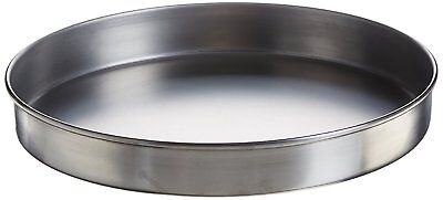 "Advantech PS12H Stainless Steel Half Height Sieve Pan, 12"" Diameter"