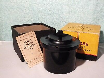 Vintage Collectable Austral Universal Developing Tank. KODAK. Photography