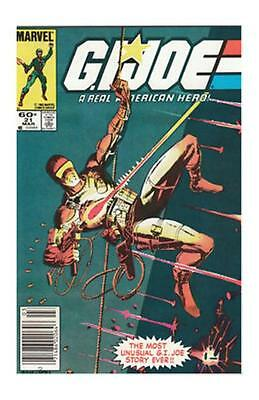 G.I. Joe, A Real American Hero #21 (March 1984, Marvel) Snake-Eyes Silent Issue