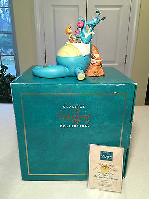 """NEW! WDCC The Reluctant Dragon """"THE MORE THE MERRIER"""" Disney Classics Figurine"""