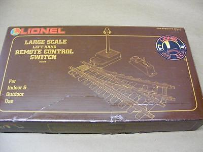 NEW NOS Lionel Large Scale Left Hand Remote Control Switch 82008 Unused