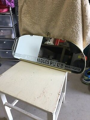 Vintage Bus Large Mirror All Etched RARE .