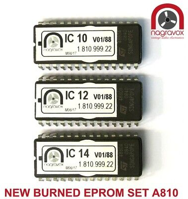 Studer A810 new EPROM chip sets