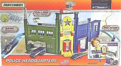 Matchbox Police Headquarters Playset Brand New