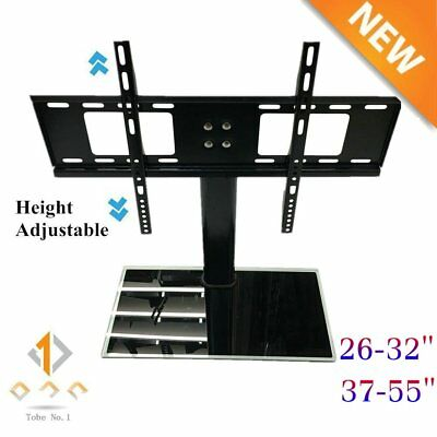 """New Hot Tabletop TV Stand Pedestal Base Swivel Wall Mount for 37""""-55"""" TVs USA HG"""