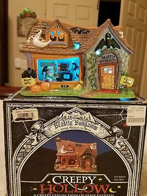 Creepy Hollow - Beastly Bungalow - (Lighted) Limited Edition - MIB -Item #298274