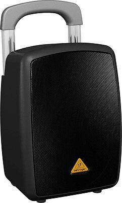 NEW Behringer MPA40BT-PRO Bluetooth PA System w/ Microphone, Handle & Wheels