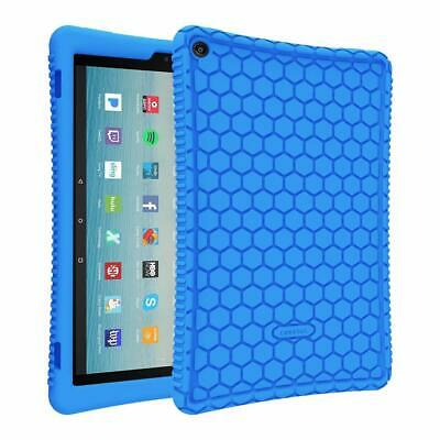 For New Amazon Fire HD 10 7th Gen 2017 / 5th Gen 2015 Tablet Silicone Case Cover