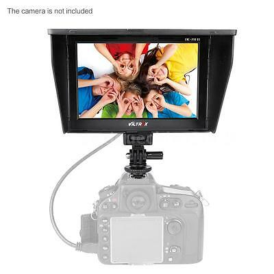 "VILTROX DC70Ⅱ 7"" Clip-On LCD HD Video Monitor HDMI AV Canon Nikon DSLR Camera DV"