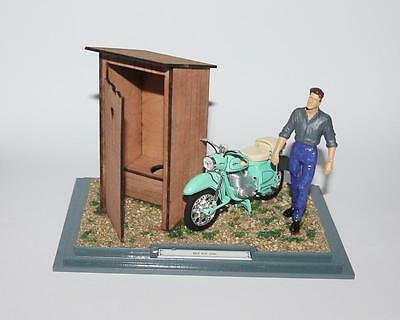 Diorama MZ ES 250 - 1:24 - motorcycle from DDR 1956-1962