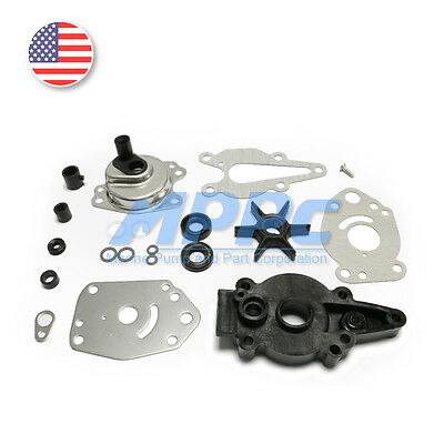 Water Pump Impeller Kit for Mercury Force 46-42089A5 6, 8, 9.9, 15HP Replacement