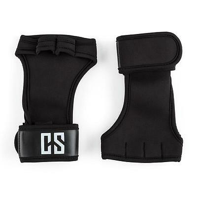 Size L Capital Sports Palm Pro Weightlifting Gloves Cross Power Lifting Black