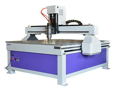 3KW CNC Router Engraver Miller 1300mmx1300mm, Signs Cutting+DSP Controller