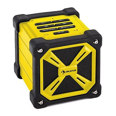 Mobile Outdoors Bluetooth System Wireless Portable Speaker Usb Charge - Yellow