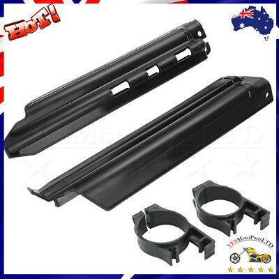 Front Fork Guides Fork Guards Cover Protector For Kawasaki KLX250 2006-2007
