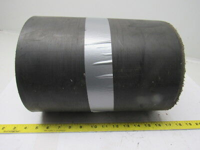 "3 Ply Interwoven Smooth Top Black Conveyor Belt 29'-1/2""x12""x0.134"""