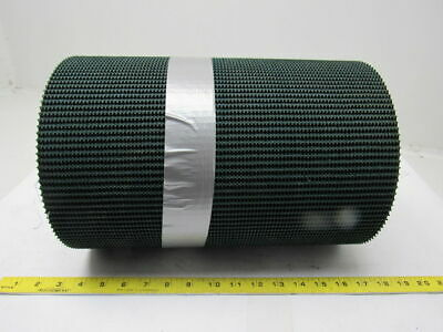 "2 Ply Rough Top Incline Conveyor Belt Green 14""x13'-5"" x0.285"