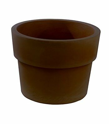 Vondom 40260 - Vaso simple con diámetro de 60 x 46 cm, color bronce
