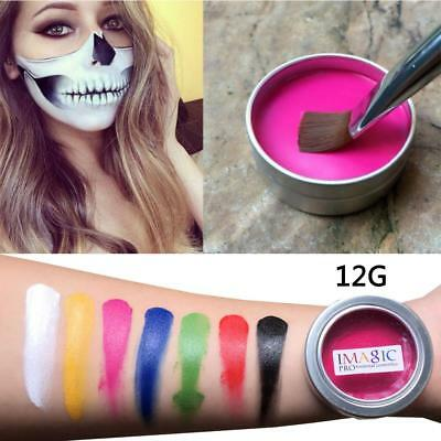 Halloween Party Face Makeup Flash Tattoo Body Paint Oil Art Face Paint Tools DL