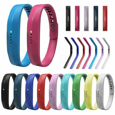 Replacement Wristband Strap Bracelet Watch Band Classic Buckle for Fitbit Flex 2