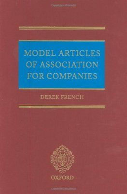 Model Articles of Association for Companies