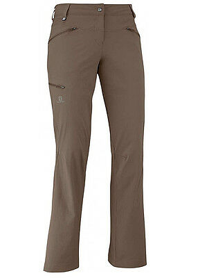 Hiking Trousers Women's Salomon Wayfarer Pant w ,Brown , also Short Sizes
