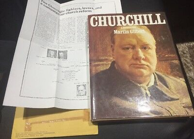 Churchill A Biography By Martin Gilbert 1983 PLUS Article (copy) On Family Tree!