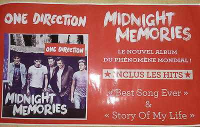 Plv Autocollant One Direction