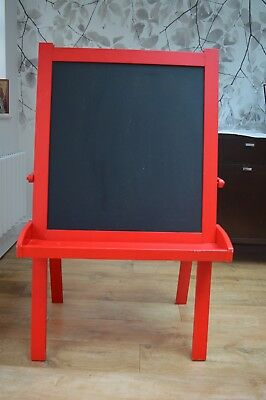 Great Little Trading Company Childrens Art Easel Red  used