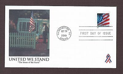 mjstampshobby 2001 US United We Stand  FDC MNH (Lot4220)