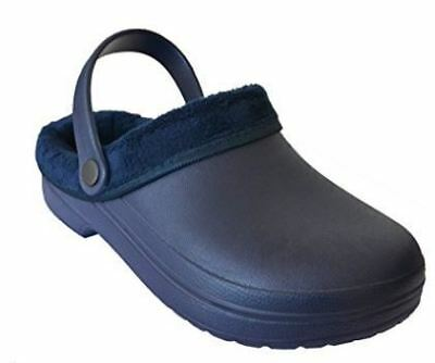 Town & Country - Furry Cloggies (Navy)