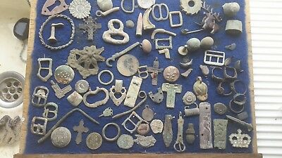 Big Lot Of Metal Detecting Finds 9 Relisted Unpaid
