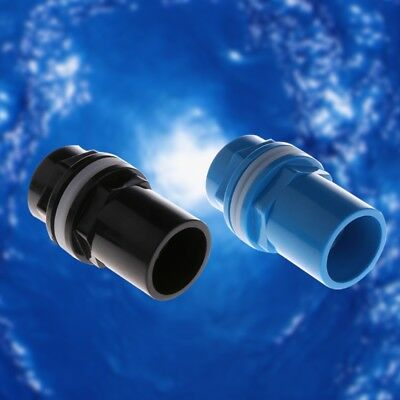Aquarium Inlet Outlet Fitting Head Water Pipe Fitting Connector 20/25/32/40/50mm