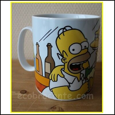 GRAND MUG  TASSE HOMER  SIMPSON   THE SIMPSONS 900ml