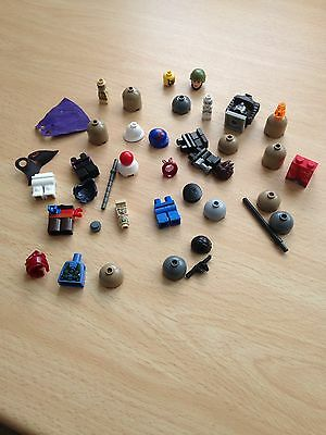 Small Joblot of Lego Mini figures Accessories - Bits and bobs! See all pictures!