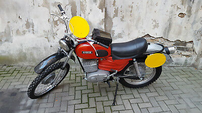 1972 MZ 250 GS Six Day Enduro ISDT Vintage Twin Shock Motorcycle VGC