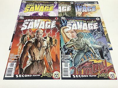Doc Savage #1-7 (Dc/firstwave/malmont/porter/1216142) Near Complete Set Lot Of 5