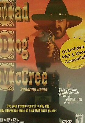 Mad Dog McCree PC based on Laser Disc Game NEW