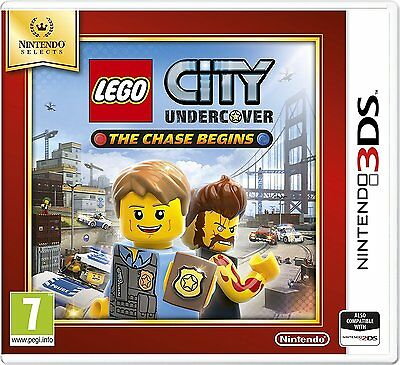 Lego City Undercover The Chase Begins Nintendo Selects 3DS - Brand New & Sealed