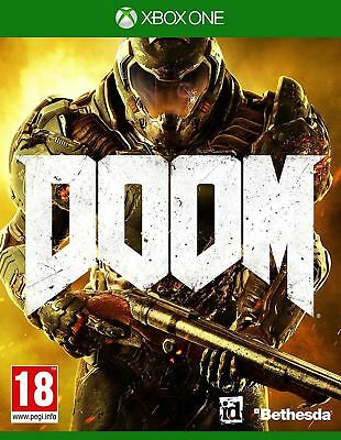 Doom Xbox One New and Sealed