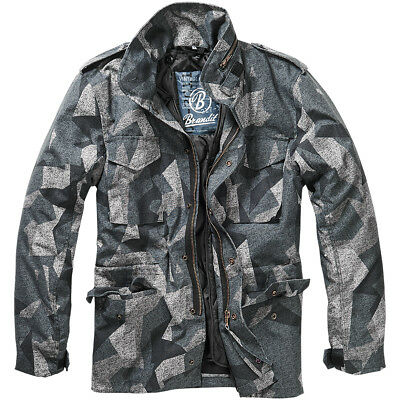 Brandit M65 Standard Jacket Military Mens Coat Tactical Parka Night Camo  Digital cea035abbb06f