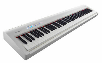 Roland FP-30 Digital Piano, White (NEW)