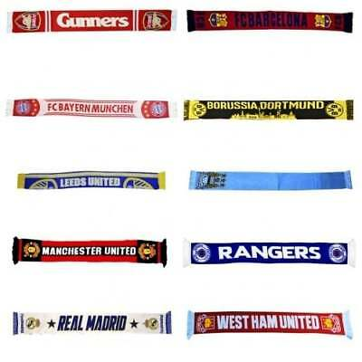 Football Team Supporters Scarf OFFICIAL Scarves Merchandise NEW GIFTS