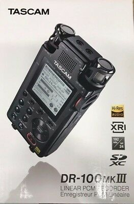 Tascam - DR-100mkIII - Linear PCM Recorder