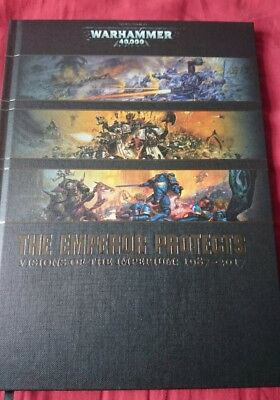 Warhammer 40k emperor protects art book limited rare