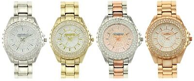 Tahari Women's Watch Rhinestones Embellished Analog Display Analog Quartz Watch