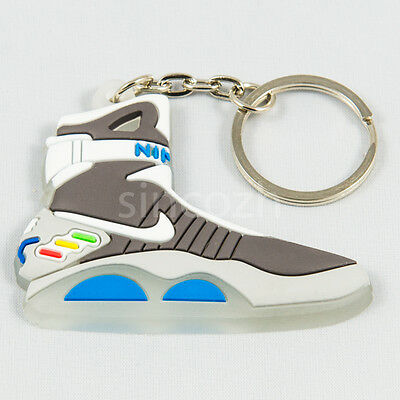 Nike Air Mag Back to the future Keychain Keyring Llavero  Glow in the dark
